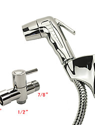 Contemporary Hand Shower Chrome Feature-Eco-friendly , Shower Head