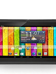 cheap -M750D3 7 inch Android Tablet (Android 4.4 1024 x 600 Quad Core 512MB+8GB) / 32 / TFT / Micro USB / TF Card slot / 3.5mm Earphone Jack