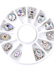 cheap -1SET Nail Jewelry Glitters Metallic Fashion High Quality Daily