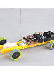 Недорогие -Игрушки на пульте управления Игрушечные машинки Игрушки на солнечной батарейке Автомобиль Пульт управления Своими руками пластик Ластик Металл Детские Игрушки Подарок