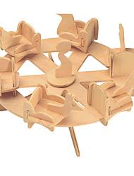Puzzles Kit de Bricolage Blocs de Construction Puzzles 3D Jouet Educatif Puzzle Puzzles en bois Blocs de Construction Jouets DIY
