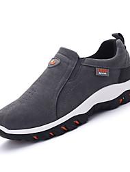 Da uomo scarpe da ginnastica Footing Comoda PU (Poliuretano) Primavera Autunno Piatto Nero Grigio scuro Blu 5 - 7 cm