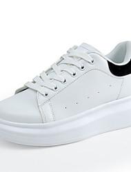 Sneakers-Kunstlæder-Rullebræt Komfort-DamerUdendørs Kontor Fritid-Platå Creepers