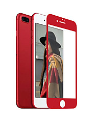 cheap -ZXD China Red Soft Edge For iPhone 7 Plus Screen Protector 3D Full Cover Tempered Glass Seamless Covering Anti Glare