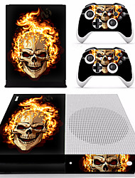 Недорогие -B-SKIN XBOX ONE  S PS / 2 Стикер Назначение Xbox One S ,  Оригинальные Стикер PVC 1 pcs Ед. изм
