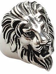 Anelli Occasioni speciali Gioielli Acciaio al titanio Anello 1 pezzo,7 8 9 10 11 12 13 14 Argento