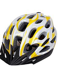 Sportif Unisexe Vélo Casque 28 Aération Cyclisme Cyclisme Cyclisme en Montagne Cyclisme sur Route Cyclotourisme Polycarbonate EPSJaune