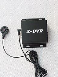 câmera com áudio HD CCTV 8 noturna infravermelha câmera lâmpadas visão lenss x-DVR