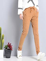 segno 2017 nuova primavera pantaloni di velluto afflusso di studenti opzionale a quattro colori