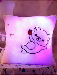 cheap -LED Lighting Pretend Play Stuffed Animal Plush Toy Stress Reliever Cute LED Lighting Creative Sound Glow in the Dark Lovely Fluorescent