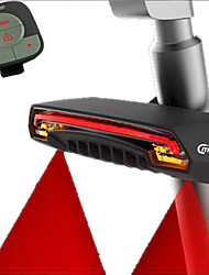 Intelligent Wireless Remote Control Bicycle Laser Tail Light Steering Light USB Charging LED Light