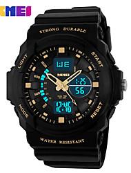 Недорогие -Муж. Спортивные часы Нарядные часы Часы со скелетом Модные часы Наручные часы электронные часы Кварцевый Цифровой силиконовый Группа С