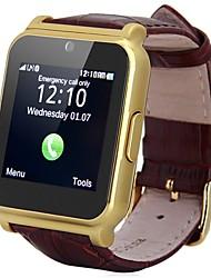 1,54 Zoll mtk6260 Uhr mit sim / tf-Karten-Slot-Push-Nachricht fm Radiokopfhörer Bluetooth-Konnektivität Kamera für Android ios phon