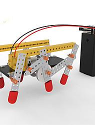Kit de Bricolage Jouet Educatif Robot Jouets Machine Robot Architecture Nouveauté Marche A Faire Soi-Même Pièces
