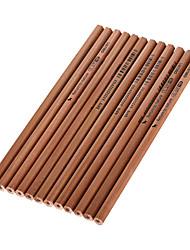 economico -legno nero matite di inchiostro hb 1 set di 12 pezzi