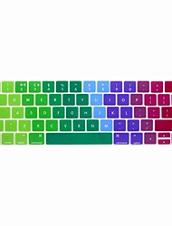 cheap -XSKN® European English Colorful Silicone Keyboard Skin and Touchbar Protector for 2016 Newest MacBook Pro 13.3/15.4 with Touch Bar Retina