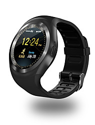 economico -Per uomo Smart watch Digitale Touchscreen Calendario Resistente all'acqua Velocimetro Pedometro Cronometro Comunicazione Tachimetro Gomma