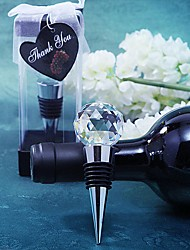 Beter Gifts® Recipient Gifts - Crystal Ball Design Wine Bottle Stopper Tea Party Souvenirs