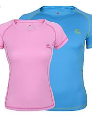 Per donna Unisex T-shirt da escursione Asciugatura rapida Traspirante Materiali leggeri Cursore singolo Set di vestiti per Golf S M L-