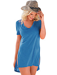 Women's Mint Cozy Short Sleeves T-shirt Cover-up