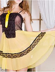 cheap -Women's Gartered Lingerie Nightwear - Modern Style, Solid Colored