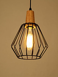 cheap -Rustic/Lodge Vintage Country Modern/Contemporary LED Pendant Light Ambient Light For Living Room Bedroom Dining Room Study Room/Office