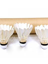 economico -3 pezzi Badminton volani Volani di piume Duraturo per Piume d'oca