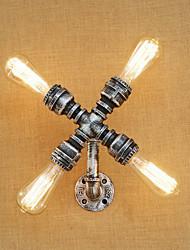 Ac 110-130 ac 220-240 160 e26 / e27 функция ретро росписи страны для поворотного кронштейна, стенного освещения настенного светильника
