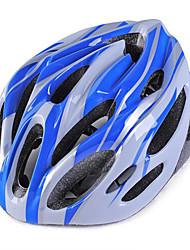 Недорогие -Мотоциклетный шлем Велоспорт 18 Вентиляционные клапаны Регулируется Экстремальный вид спорта Горные Горные велосипеды Шоссейные