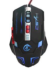 Mouse ottico usb ha condotto il gioco del mouse 7 pulsanti retroilluminati mouse del computer cablato 3200 dpi regolabile mouse pc gamer