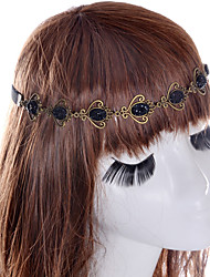 cheap -Women's Vintage Cute Party Gemstone & Crystal Fabric Hair Clip