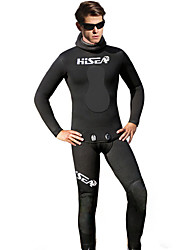 cheap -HISEA® Men's 5mm Wetsuit Pants Full Wetsuit Wetsuit Top Waterproof Thermal / Warm Anti-Eradiation Yamamoto Diving Suit Tights Diving Suits