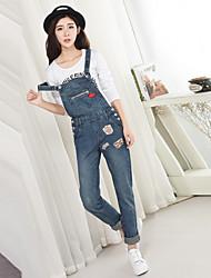 подписать новый патч 2017 значок джинсовой ремень брюки женщина