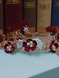 Fasce speciali di occasione di tiaras di occasione del headpiece-wedding del tessuto della lega del rhinestone 1 parte