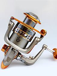 Mulinelli da pesca Mulinelli per spinning 5.2:1 12 Cuscinetti a sfera Mano destra Pesca dilettantistica-GF3000