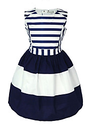 Girls' stripe clothes