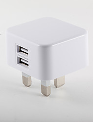 cheap -Portable Charger Phone USB Charger UK Plug Fast Charge Multi Ports 2 USB Ports 3A AC 100V-240V For iPad For Tablet