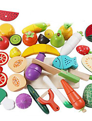 Pretend Play Toy Kitchen Sets Toy Foods Toys Duck Vegetables Friut Children's 25 Pieces