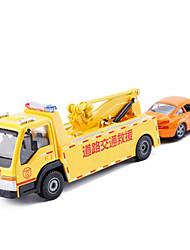 Недорогие -Грузовик Аварийный автомобиль Игрушечные грузовики и строительная техника Игрушечные машинки Машинки с инерционным механизмом 1:50 Металл