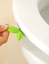 1Pcs  New Leaf Shape Toilet Seat Handle Seat Cover Lifter Avoid Touching Clean Style Random Design
