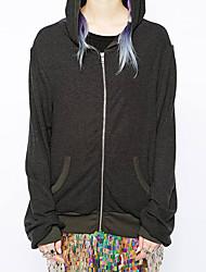 Европейская и американская мода назад ангел крылья печати случайный пиджак hoodies
