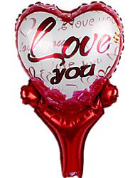 Недорогие -Воздушные шары Игрушки В форме сердца Сердце Надувной Для вечеринок 1 Куски