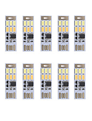 BRELONG Dimming USB 3W 6x5730 Night Light Touch Switch Touch  Dual Light Color (DC5V) 10pcs