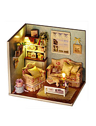 cheap -LED Lighting DIY KIT Dollhouse Model & Building Toy House