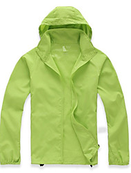 cheap -Men's Women's Unisex Hiking Jacket Outdoor Thermal / Warm Quick Dry Ultraviolet Resistant Breathable Top Camping / Hiking Hunting Cycling