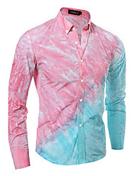 The Latest Men's Fashion Casual Long-Sleeved Shirt