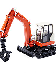Недорогие -Игрушечные машинки Строительная техника Кран Игрушки Игрушки Металлический сплав Металл Куски Детские Универсальные Подарок