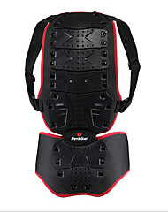 HEROBIKER Motorcycle armor to protect the back drop back support skiing garment spinal gray shock protection