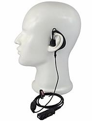 preiswerte -365 Walkie Talkie Zubehör G-Form Headset für Motorola xir p6600 / 6620 xpr 3300/3500 Radio Mikrofon Zubehör
