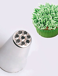1Pcs  Medium Size Icing Piping Nozzles For Cream Stainless Steel Metal Attachments Pastry Baking Tools For Cake Fondant